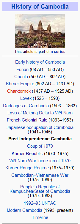 Khmer Rouge Timeline by 2123