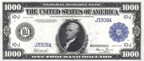 $1000 in 1918