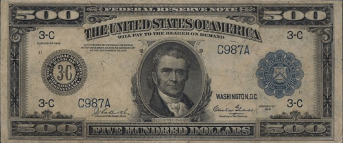 $500 in 1918