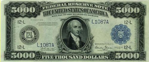 $5000 in 1918