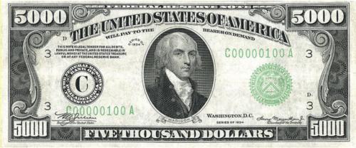 $5000 in 1934
